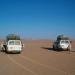 grande traversée 100 kms de désert plat ...