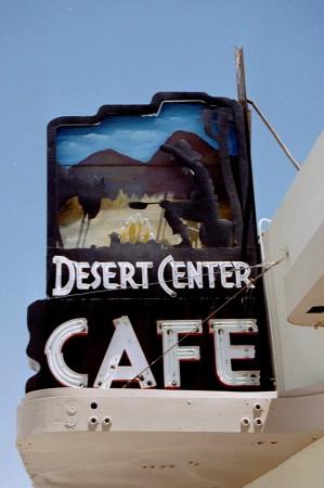 Dans le désert prés de Phenix, Arizona